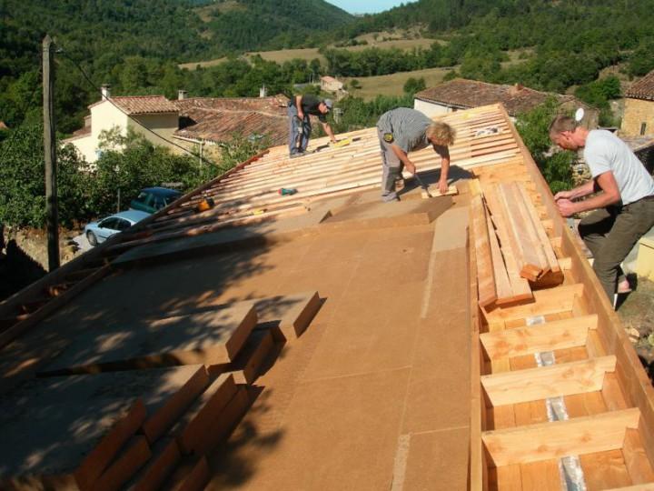 Isolation de toitures ou de sols u00b7 Batiscop # Sarking Fibre De Bois